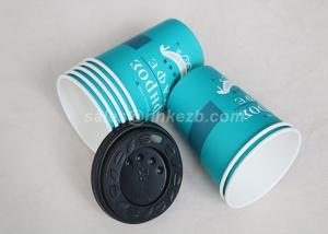 China 12oz / 16oz / 20oz Hot Drink Paper Cups , Disposable Espresso Cups on sale