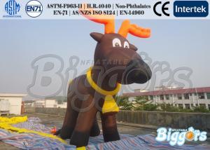 China Popular Inflatable Advertising Model Reindeer Rudolph Air Cartoon on sale