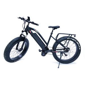 China High Speed  48v 1000w Bafangcentral motor  Mountain Electric Fat Bike with front  suspension fork and LCD color display on sale