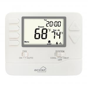 China White Backlight 5/1/1 Progammable Gas Boiler And Electric  Digital Heating Room Thermostat on sale