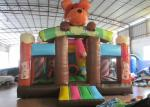 Lovely bear inflatable standard slide for kids inflatable bear slide house on sale inflatable brown bear standard slide