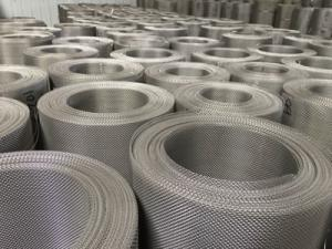 China Customized Stainless Steel Mesh Roll , Ss 316L Dutch Woven Wire Mesh Panels on sale