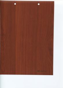 China china hard rigid wood grain pvc film for furniture laminating on sale