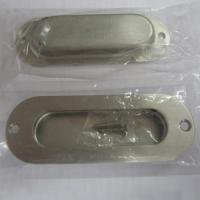Oblong cup flush pull handle for cabinet/drawer/dresser/wardrobe/furniture/kitchen/door