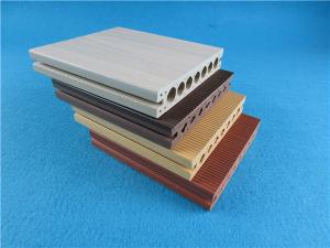 China Anti-UV Vinyl Decking Material / WPC Decking for Outdoor Flooring on sale
