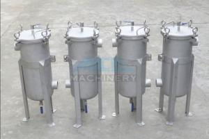 China Bag Filter Housing/Stainless Steel Water Filter Housing/Tank 304 Liquid Bag Filter Housing Water Purification on sale