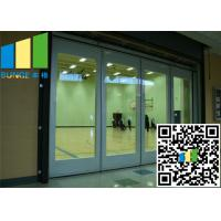 Sliding Glass Wall Partition With Doors Malaysis Aluminum Track