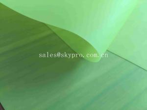 China Waterproof PVC Conveyor Belt Breathable Antibacterial Soft Green TPU Sheet on sale