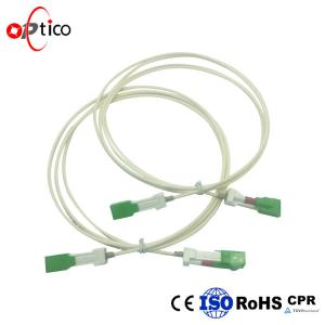 China Auto Shutter SC SC Fiber Patch Cord / Customized Optical Fiber Patch Cord on sale