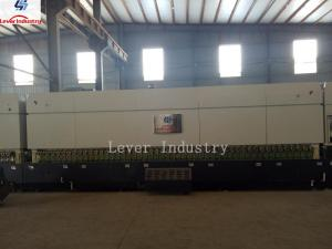 China Customized Double Heating Chamber Flat and Bending Glass Tempering Furnace on sale