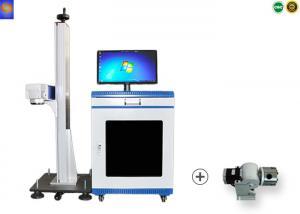 China Desktop Optical Fiber 3D Laser Marking Machine 20w 30w Marking Name Code Bar Logo on sale