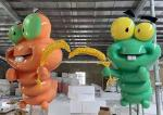 custom big statues fiberglass cartoon sculpture FRP statue visual merchandising display props for shopping mall