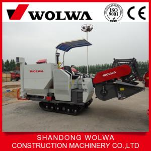 China high quality rice/wheat combine harvester 75hp for sale on sale