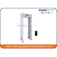 Airport Security Metal Detectors With Led Display , Alarm Lights