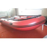 China aluminum floor catamaran boat Inflatable rafting boat on sale
