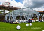 10m Width 15m Length Transparent Top Tent For 150 People Wedding Party