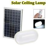 Eco - Friendly Balcony Solar LED Ceiling Light Discharging Time 5~7 Hours 4000K