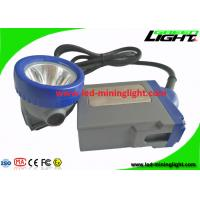 China 6.6Ah Rechargeable Li - ion Battery LED Mining Cap Lights with 16hrs Long Lighting Time on sale