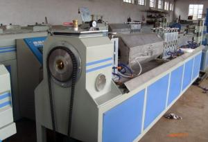 China PE Carbon Spiral Reinforcing Single Screw Extruder Pipe Production Line on sale