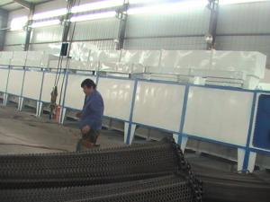 China high efficient mineral briquettes mesh belt dryer on sale