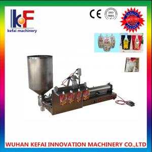 China reasonable  stand up fruit plastic ziplock bag filling machine  made in china on sale