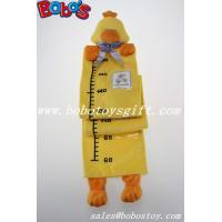 Hang Baby Yellow Duck Height Measurement Plush Animal Growth Chart