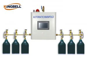 China Automatic Medical Gas Manifold PLC Control Brass Gas Type Oxygen on sale