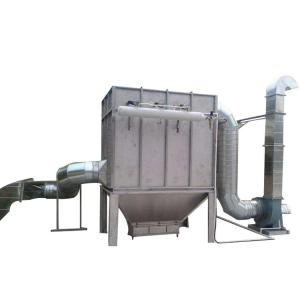 China Industrial stainless steel pulse jet dust collector machine Pulsed cloth bag filter on sale