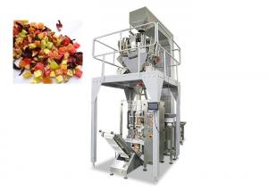 China Fruit Salad Food Packing Machine Touch Screen Operated 4000ML Filling Range on sale