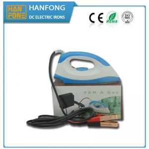 China ISO9001 150W 12V Dc Home Appliances Dry Iron With Red Power Indicating Light on sale