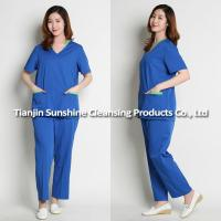 China OEM Service Doctor Uniforms Medical Scrub on sale