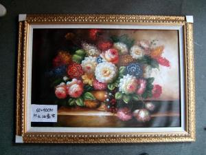 China Custom Size, Material Oil Painting Framed 385g Pure Cotton Canvas Printing Service on sale