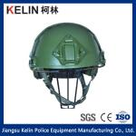 NIJ IIIA 9mm Kevlar Green Fast Bulletproof Helmet with Test report