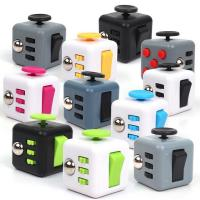 China 2017 Trending 3D magic stress release fidget cube adult toys Anxiety Reliever Promotion Gifts on sale