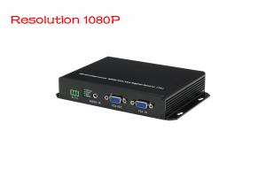 China Video resolution 1080P,1-channel VGA video converter 20km SM fiber FC including 1 sender & 1 receiver, used by pairs on sale