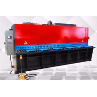 5.5 Kw Small Metal Shearing Machine , Industrial Steel Sheet Shearing Machine