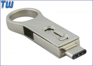 China Big Ring Dual USB Port USB 3.1 Type-C USB 3.0 32GB Pendrive Memory on sale