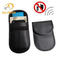 3G 4G Mobile Cellular Phone RF Signal Shielding Blocker Jammer Bag,ID Card Bank Cards Remote Car Keyless Protection Bag