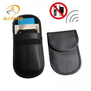 China 3G 4G Mobile Cellular Phone RF Signal Shielding Blocker Jammer Bag,ID Card Bank Cards Remote Car Keyless Protection Bag on sale