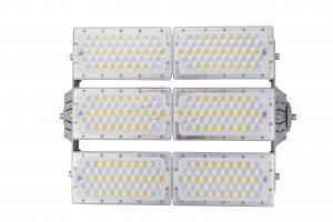 China Rotation Module Industrial LED Flood Lights AC 90 - 305V 38400LM Lumen on sale