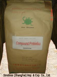 China Compound Probiotic Feed Additives Efficient Microorganism GMP / ISO Certificated SEM-COM20BI on sale