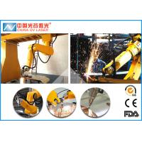 Galvanized Steel Fiber Laser Cutting Machine with 6 Axis Robot Arm