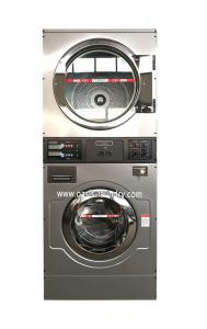 China OASIS 13kgs OPL STACK Washer Dryer/washer dryer/combo washer dryer/commercial washer dryer on sale