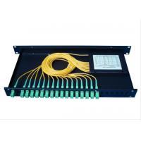 2 * 32 APC Sc Coupler , Fused Fiber Coupler For PON Networks / Telecom Level Grade