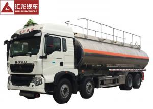China 8x4  Fuel Oil Delivery Truck Double Layer Robust Frame High Bearing Capacity on sale