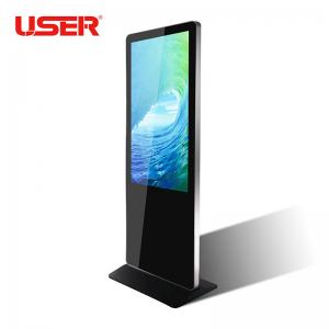 China Factory direct sale lcd advertising player  floor stand digital signage/totem/kiosk on sale