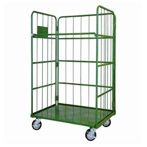China Hand Trolley Heavy Duty Logistic Warehouse Roll Container with 4 Wheels on sale