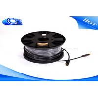 Customized Extra Long 2.0 HDMI Fiber Optic Cable With Low Power Consumption