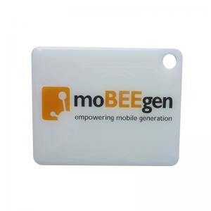 China Programmable RFID Epoxy Tag Keychain For Mobile Phone Laser Engraved Logo on sale