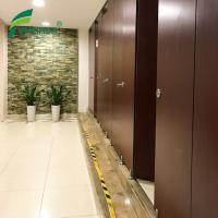 Fumeihua compact phenolic waterproof HPL toilet cubicle partition